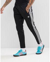 adidas Originals – adicolor Beckenbauer – Enge Jogginghose - Schwarz