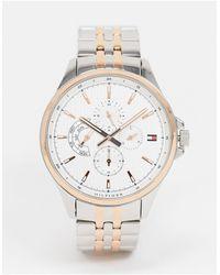 Tommy Hilfiger Часы Из Комбинированных Металлов Shawn 1791617-серебристый - Металлик