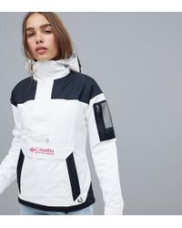 Columbia Challenger Pullover In White
