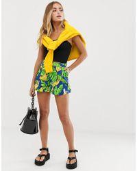 Love Moschino Шорты С Банановым Принтом - Многоцветный