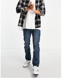 Wesc Eddy Slim Fit Jeans-blue