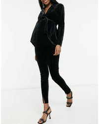 ASOS ASOS DESIGN Maternity - Pantalon - Noir
