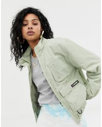 Stussy Tech-Jacke mit aufgesetzten Taschen - Natur