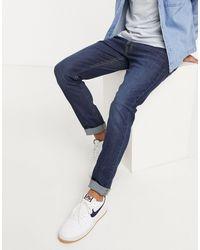 Lee Jeans Jeans - Luke - Jean slim fuselé - Bleu foncé délavé