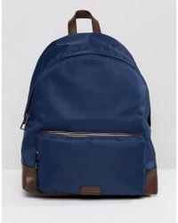Dune Hugo Backpack In Navy - Blue