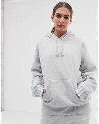 adidas Originals - Coeeze Hoodie In Grey Heather - Lyst
