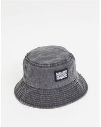 Reclaimed (vintage) Overdye Bucket Hat - Gray