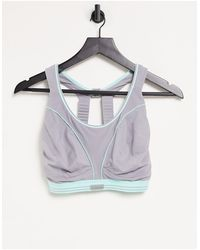 Shock Absorber Ultimate Run Extreme High Support Sports Bra - Metallic