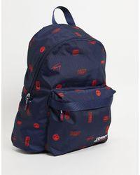 Tommy Hilfiger Темно-синий Рюкзак Со Сплошным Логотипом