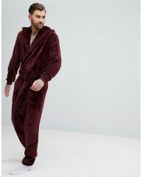 ASOS - Robe Onesie In Fleece - Lyst