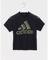 adidas Glam - T-shirt - Noir