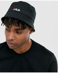 145a80c87 Fila Tour Baseball Cap With Small Logo In Navy in Blue for Men - Lyst