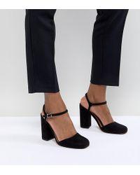 474917861b9 ASOS Photobox Platform Shoes in Blue - Lyst