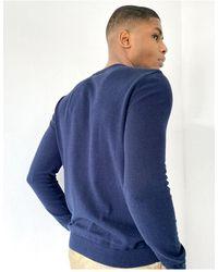 TOPMAN - Twist Knitted Jumper - Lyst