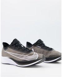 Nike Zoom Fly 3 Sneakers - Black