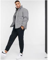 TOPMAN Puffer Jacket - White