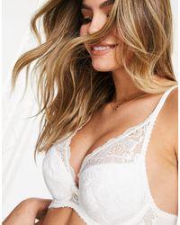Gossard Lace Fuller Bust High Apex Bra - White