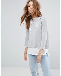 Hollister - Supersoft Hoodie - Lyst