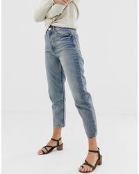 ASOS Florence Authentic - Gerecyclede Jeans Met Rechte Pijpen - Blauw