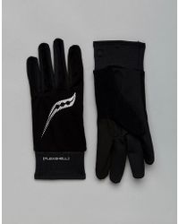 Saucony - Running Vitarun Gloves In Black Sa90511-bk - Lyst