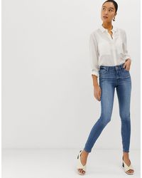 Miss Selfridge Skinny Jeans - Blue