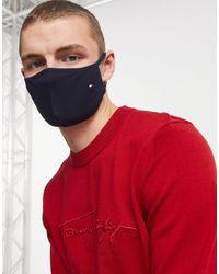Tommy Hilfiger Beschermend Mondkapje - Rood