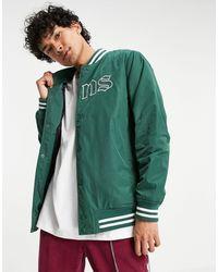 Vans Зеленая Куртка С Принтом В Университетском Стиле Sixty Sixers-зеленый Цвет