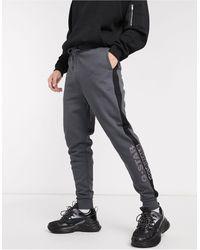 G-Star RAW Серые Джоггеры С Логотипом Originals-серый
