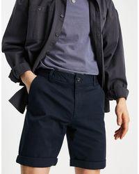 New Look – e Chino-Shorts - Blau