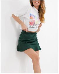 ASOS Flippy Mini Skirt - Green