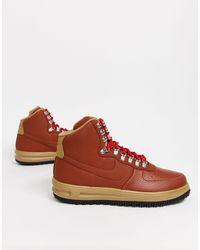 Nike Lunar Force - 1 Duckboot BQ7930-200 - Sneakers marroni - Marrone
