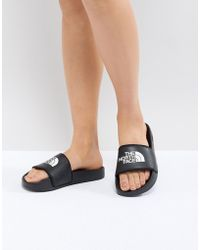 The North Face - Women's Base Camp Slide Ii In Black - Lyst