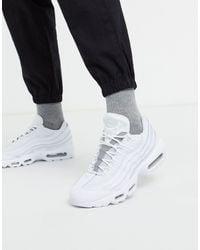 Nike Air Max 95 - Leren Sneakers - Wit