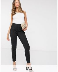 Y.A.S Tailored Trouser With Elasticated Waist - Black