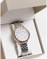 Bellfield Stainless Steel Linked Bracelet Watch - Metallic