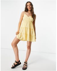 Hollister Cami Dress - Yellow
