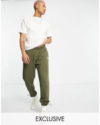 Reebok Classics Trackies With Central Logo - Green