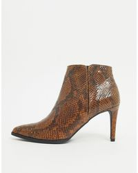 Vero Moda Heeled Shoeboots - Brown