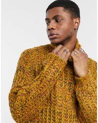ASOS Loose Stitch Sweater - Yellow