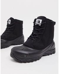 The North Face Черные Ботинки Tsumoru-черный