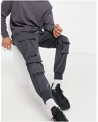 Sixth June - Pantalones grises cargo - Lyst