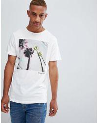 Jack & Jones - Originals T-shirt With Fluro City Graphic - Lyst