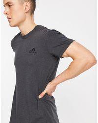 adidas Originals - Черная Футболка Из Технологичной Ткани Adidas Yoga-черный Цвет - Lyst
