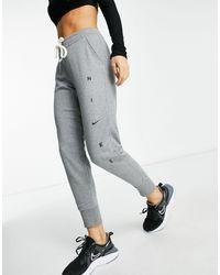 Nike – Fleece-Jogginghose - Grau