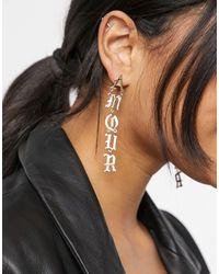 TOPSHOP Drop Earrings - Multicolour