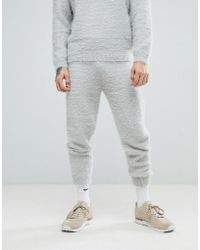 ASOS - Knitted Joggers In Fluffy Yarn - Lyst