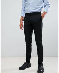 Burton Pantaloni skinny eleganti neri - Nero