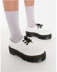 Dr. Martens Белые Туфли 1461 Quad-белый