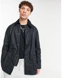 Barbour Вощеная Куртка Ashby-темно-синий
