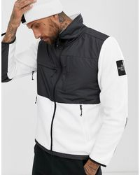 dee1fbdb5 The North Face Denali Fleece Jacket Mixed Fabric In Black for Men - Lyst